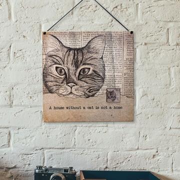 Plaquinha Cat