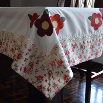 Toalha de Mesa Floral