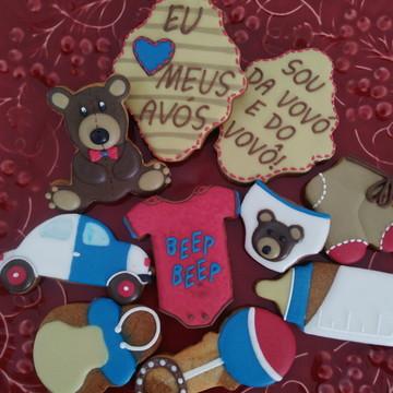 Biscoitos Decorados Bebê