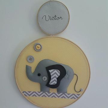 Enfeite Porta Maternidade Elefante
