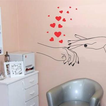 Adesivo decorativo para manicure salão