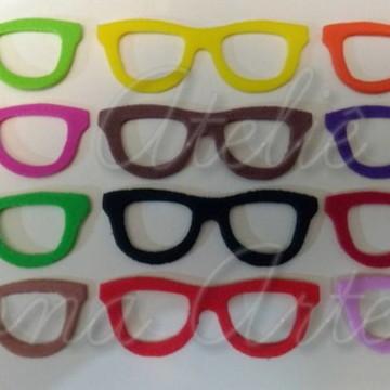 185c302cf Aplique Oculos Quadrado 10 Unidades   Elo7