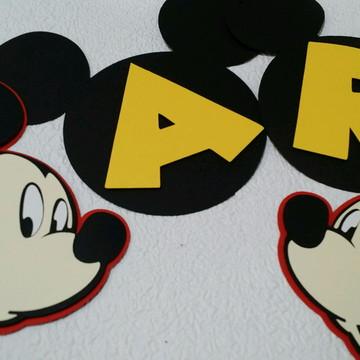 Varal de Letras Mickey