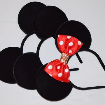 kit3Orelhas Minnie Mickey *Fofinha luxo*