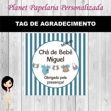 Tag de Agradecimento Chá de Bebê