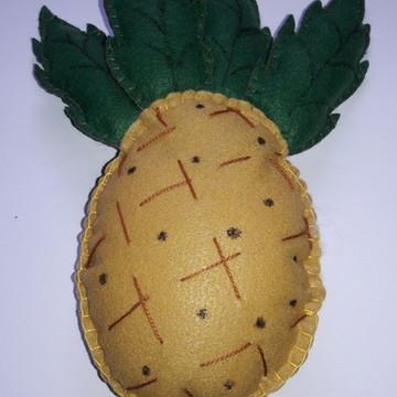Frutas Decorativas de Feltro - Abacaxi