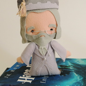 Dumbledore em feltro