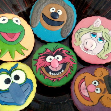 Biscoitos Decorados Muppets