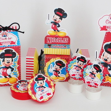 Kit festa Circo do Mickey