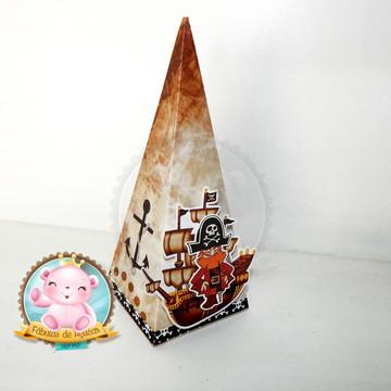 Caixa pirâmide Pirata