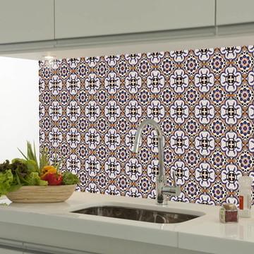 Adesivo decorativo azulejo portugues 001