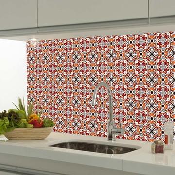 Adesivo decorativo azulejo portugues 004