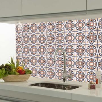 Adesivo decorativo azulejo portugues 006