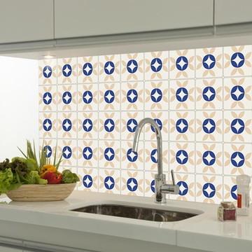 Adesivo decorativo azulejo portugues 018