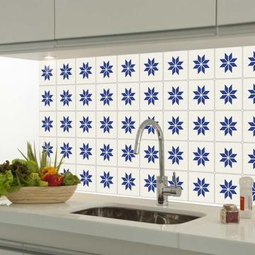 Adesivo decorativo azulejo portugues 023