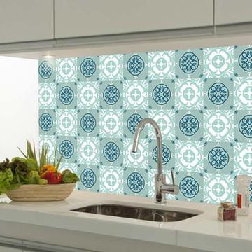 Adesivo decorativo azulejo portugues 055