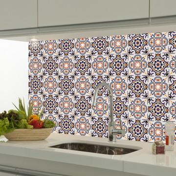 Adesivo decorativo azulejo portugues 058
