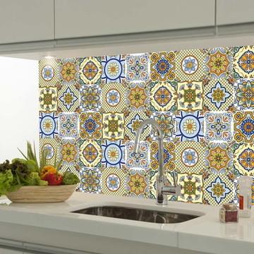 Adesivo decorativo azulejo portugues 063