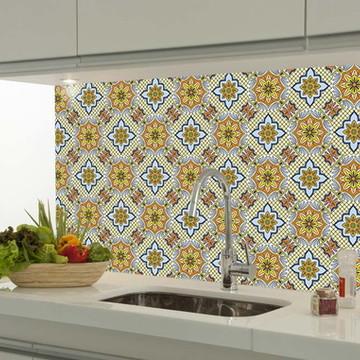 Adesivo decorativo azulejo portugues 067