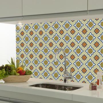 Adesivo decorativo azulejo portugues 070