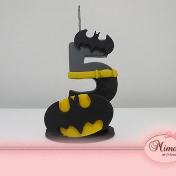 Vela de 5 anos do Batman