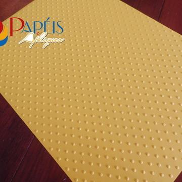 Papel Textura Poá Sahara 12 unidades