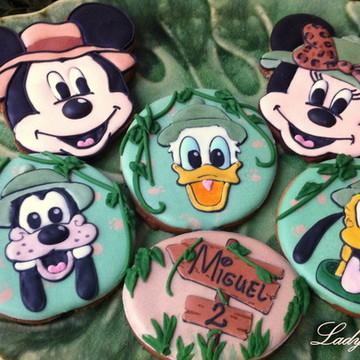 Biscoitos Decorados Mickey Safari