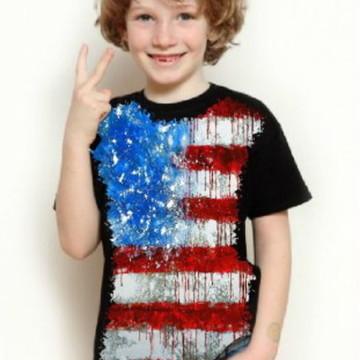 Camiseta Estados Unidos Infantil