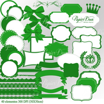 Kit Digital Acessórios Verde