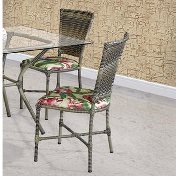 Cadeira Cozinha Em Fibra Sala De Jantar