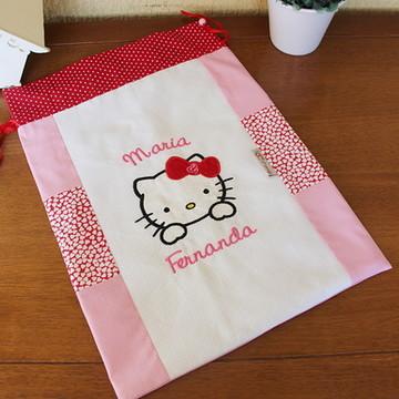349e4147eb Saquinho Roupa Limpa Hello Kitty