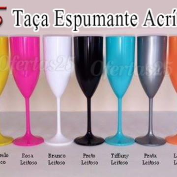 Taça Champagne Acrílica 170ml