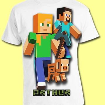 CAMISETA MINICRAFT 01