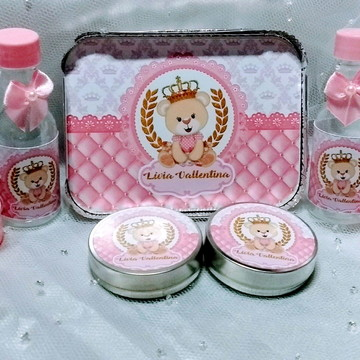 ursinha princesa kit festa