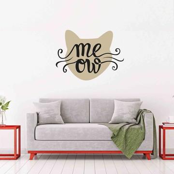 Adesivo Decorativo Meow