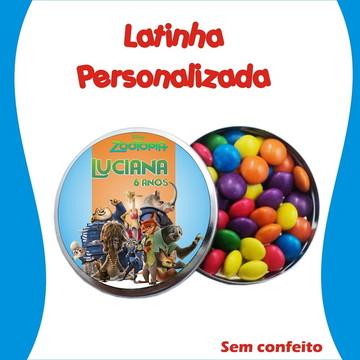Latinha Zootopia