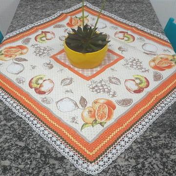 Toalha de Mesa customizada Laranjas