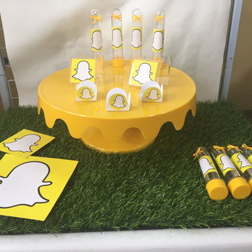 Kit festa - Snap chat