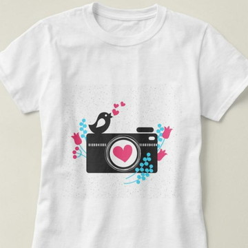 Camiseta Feminina Fotografia