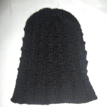 fb15adf527caa Gorro com ponto furinho em tricot no Elo7
