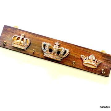 Porta chaves-cabideiro Coroas-UNIDADE