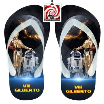 Sandália Personalizada Star Wars Várias