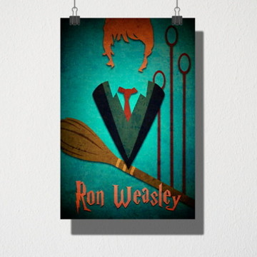 Poster A3 Ron Weasley