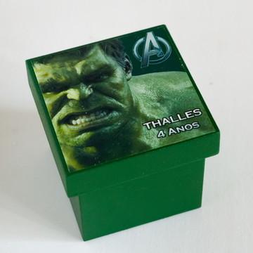 Lembrancinha MDF Hulk