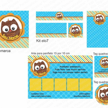 Kit Identidade Visual Exclusivo - MDFYP