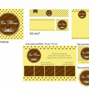 Kit Identidade Visual Exclusivo - DPDZS