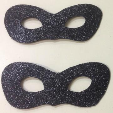 Mascara Cat Noir com gliter