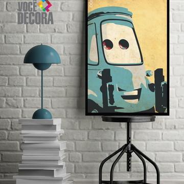 Quadro Disney - Pixar / Carros 4
