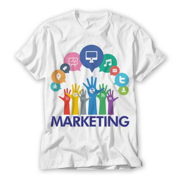 Camiseta Profissão -Marketing