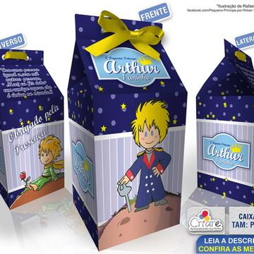 Caixa Milk Pequena - Pequeno Príncipe